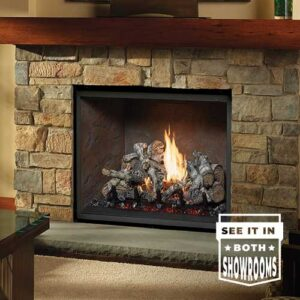 864 Clean Gas Face by Fireplace Xtrordinair